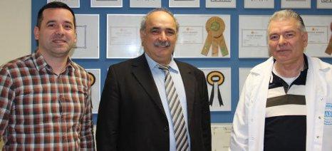 """Το Τυροκομείο Αρβανίτη και τον Συνεταιρισμό """"Ανθαγορά"""" επισκέφθηκε ο Μπόλαρης στις 24 Μαρτίου"""