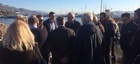 Με πληγέντες αλιείς και αγρότες της Δυτικής Αττικής συναντήθηκε ο Αποστόλου