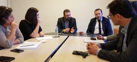 Τρόπους επίλυσης των προβλημάτων του Συνεταιρισμού «Θεσγάλα» αναζήτησαν από κοινού Αραχωβίτης-Βακάλης