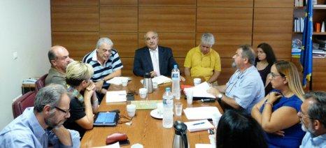 Σύσκεψη υπό τον Μπόλαρη για την αποκατάσταση της ισορροπίας του οικοσυστήματος στη Λήμνο