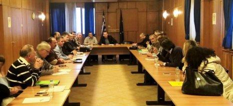 Σύσκεψη πραγματοποιήθηκε χθες στο υπουργείο για τη βιωσιμότητα των οργανισμών εγγείων βελτιώσεων