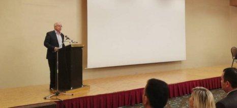 Έκκληση Αποστόλου στους αγρότες για συνεργατικά σχήματα στην εκδήλωση του Α.Σ. Ζαγοράς