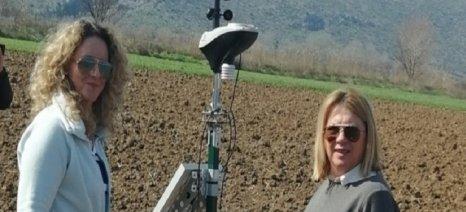 Τηλεμετρικοί σταθμοί για καλλιέργειες βαμβακιού και βιομηχανικής τομάτας στην Βοιωτία