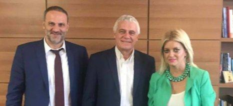 Συνάντηση Ευσταθίου-Τσιρώνη για τη δημιουργία δημοτικών σφαγείων στη βόρεια Εύβοια