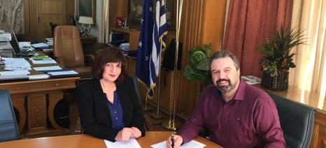 Αίτημα για απόσυρση ροδάκινων κατέθεσε η Φρόσω Καρασαρλίδου