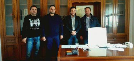 Τη στήριξή του στα αιτήματα του Αγροτικού Συνεταιρισμού Καλυβών δήλωσε ο βουλευτής του ΚΙΝΑΛ, κ. Πάνας