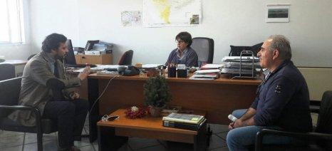 Για το πότε θα πληρωθούν οι αποζημιώσεις ΕΛΓΑ στους πληγέντες παραγωγούς της Χαλκιδικής ενημερώθηκε ο Πάνας