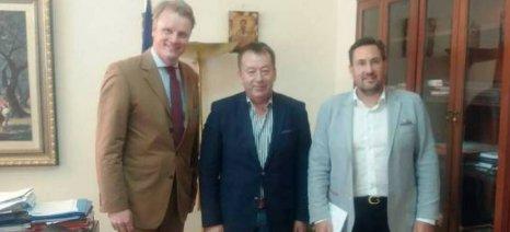 Με τον Γενικό Γραμματέα της Παγκόσμιας Οργάνωσης Σπόρων συναντήθηκε ο Κόκκαλης