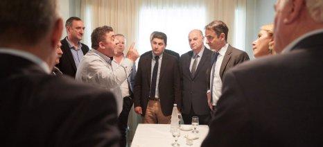 Πάταξη ελληνοποιήσεων, Διεπαγγελματική και φόρο 9% για εισόδημα έως τα 10.000 ευρώ υποσχέθηκε ο Μητσοτάκης