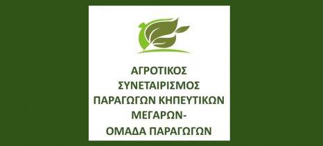 Εσπερίδα για προγράμματα και οικονομικά αγροτικά θέματα από τον Α.Σ. Παραγωγών Κηπευτικών Μεγάρων