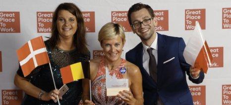 Ο όμιλος Adecco έλαβε τη δεύτερη θέση στη λίστα των εταιρειών με το καλύτερο εργασιακό περιβάλλον στην Ευρώπη
