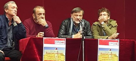 Ρώσσιος, Τσιάνος και Σέλτσας συζήτησαν στη Αμύνταιο για το μέλλον της αγροτικής οικονομίας της περιοχής