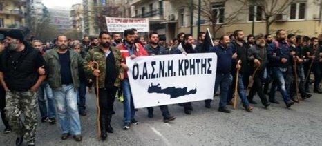 Σαλπάρουν για το αυριανό συλλαλητήριο οι αγρότες της Κρήτης