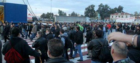Νέα κινητοποίηση ετοιμάζουν το απόγευμα οι αγρότες της Κρήτης που πλήττονται από την απεργία των ναυτεργατών
