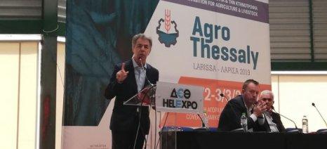Για τη νέα ΚΑΠ και τα χρηματοδοτικά εργαλεία των αγροτών μίλησε ο Κασίμης στην Agrothessaly