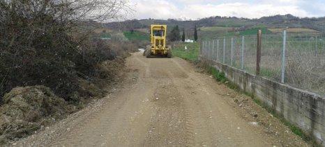 Βελτίωση αγροτικών υποδομών στις Τοπικές Κοινότητες της Κατερίνης