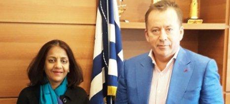 Ενδιαφέρον από Ινδία για ελαιόλαδο, γιαούρτι, ελιές, πορτοκάλια - συνάντηση επιχειρηματιών τον Ιούνιο στην Αθήνα