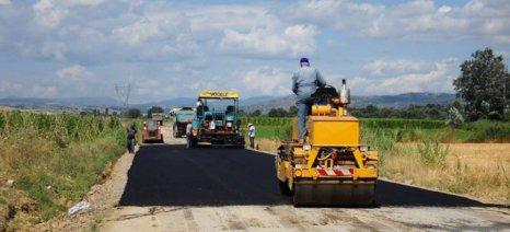 Έργα αγροτικής οδοποιίας 1,838 εκατ. ευρώ στη Δυτική Μακεδονία