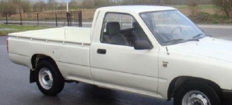 Αγροτικό αυτοκίνητο που κλάπηκε τη Δευτέρα στη Θέρμη, βρέθηκε την επόμενη μέρα στον Τύρναβο