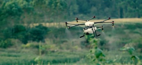 Drone και φωτογραφικές μηχανές για την εξοικονόμηση νερού - ερευνητικό πρόγραμμα στο Πανεπιστήμιο Θεσσαλίας