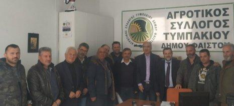 Το σχέδιο «Ελλάδα» συζήτησε το ΚΙΝΑΛ με αγρότες των Μοιρών Ηρακλείου