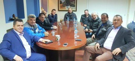 Με τον Αγροτικό Σύλλογο Βέροιας συναντήθηκε ο αντιπεριφερειάρχης Ημαθίας Κώστας Καλαϊτζίδης