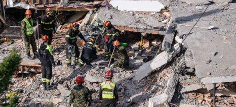 Αναχώρηση της ανθρωπιστικής βοήθειας που συγκέντρωσε η Περιφέρεια Κεντρικής Μακεδονίας για τους σεισμόπληκτους της Αλβανίας