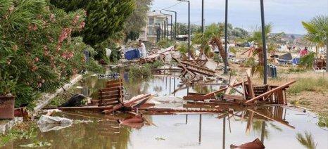 Άμεση αποζημίωση όλων των πληγέντων στη Χαλκιδική ζητά το ΚΚΕ από την Ε.Ε.