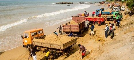 Η άμμος είναι ο δεύτερος σε ζήτηση φυσικός πόρος παγκοσμίως, μετά το νερό