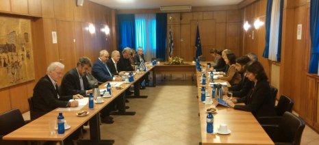 Andriukaitis και Αποστόλου συζήτησαν την προμήθεια εμβολίων για την οζώδη δερματίτιδα από την Ε.Ε.