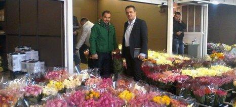 Επίσκεψη στην Ανθαγορά Αθηνών πραγματοποίησε ο Τομεάρχης Αγροτικού της Ν.Δ. Γιώργος Κασαπίδης