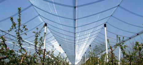 Εγκρίθηκε η τέταρτη παρτίδα αγροτών που θα βάλουν αντιχαλαζικά συστήματα