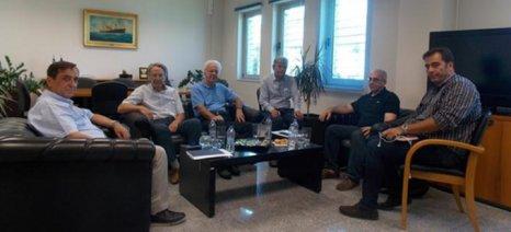 Στον Οργανισμό Λιμένος Πάτρας Αντώνογλου και Τσιάλτας για το συντονισμό των ελέγχων στη διακίνηση τροφίμων