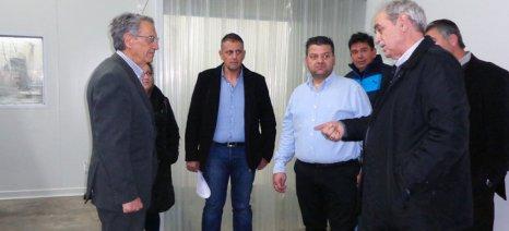 Τα προβλήματα του αγροτικού κλάδου συζήτησε ο Αντώνογλου με τα μέλη της Ομάδας Παραγωγών Μεγάρων