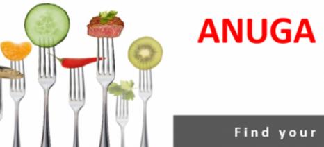 Πρόσκληση της ΑΝΚΟ για επαφές εξαγωγικών επιχειρήσεων τροφίμων στα πλαίσια της Anuga