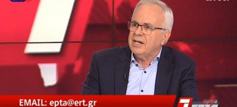 Αποστόλου στην ΕΡΤ: Η βασική ενίσχυση μειώθηκε κατά 6,5% για να πάνε τα χρήματα στις συνδεδεμένες