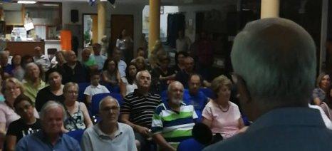 Αποστόλου από Ιστιαία: Παραλάβαμε άδεια ταμεία και καταφέραμε να δημιουργήσουμε πλεόνασμα