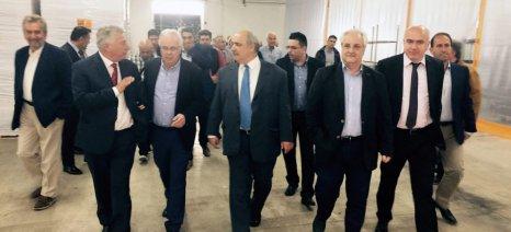 Αποστόλου στα εγκαίνια της Selecta Hellas: Θα χρηματοδοτούνται από τον Αναπτυξιακό οι μεγάλες επενδύσεις στον πρωτογενή τομέα