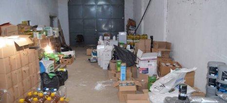 Εντοπίστηκε αποθήκη στη Θεσσαλονίκη με παράνομα φυτοφάρμακα