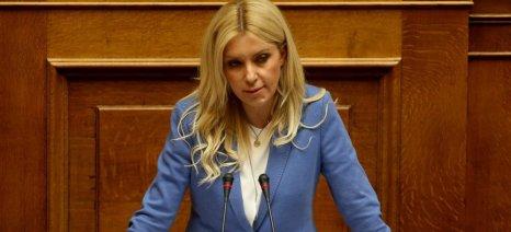Παράταση υποβολής δηλώσεων ΟΣΔΕ για ένα μήνα ζητά η Φωτεινή Αραμπατζή