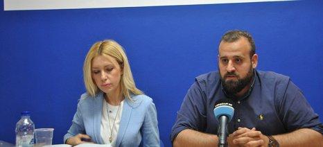 Επίθεση στην κυβέρνηση από την Αραμπατζή κατά την επίσκεψή της στη Ζάκυνθο