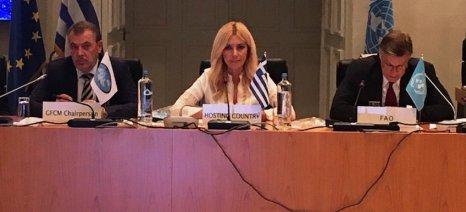 Την έναρξη της 43ης Ετήσιας Συνόδου της Γενικής Επιτροπής Αλιείας για τη Μεσόγειο κήρυξε η Αραμπατζή