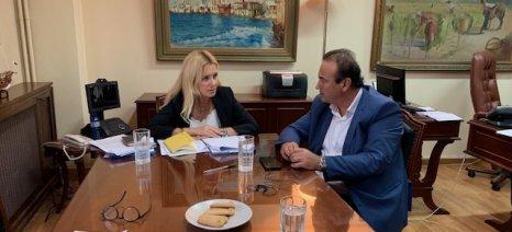 Σειρά επαφών με υπουργούς για αγροτικά θέματα είχε ο βουλευτής Φλώρινας ΝΔ Γ. Αντωνιάδης