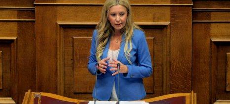 Την ενεργοποίηση του Ταμείου Κρίσης για τους σιτοπαραγωγούς ζητά η Φ. Αραμπατζή