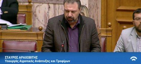 Αραχωβίτης: Προχωράμε στην άρση αρνητικών μέτρων όπως η μείωση των συντάξεων και η επιβολή του ΕΦΚ στο κρασί