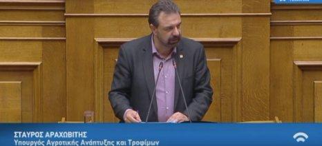 Αυξάνεται ο προϋπολογισμός του ΥΠΑΑΤ κατά 41 εκατ. ευρώ