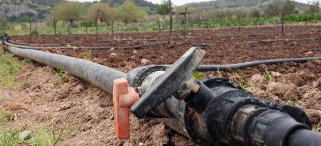 Μέχρι 30 Απριλίου οι αιτήσεις για τις άδειες χρήσης νερού