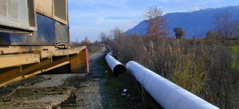 Έγκριση διάθεσης πίστωσης για αποκατάσταση ζημιών σε αρδευτικά και εγγειοβελτιωτικά έργα