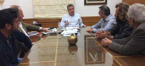 Συνάντηση για την απρόσκοπτη άρδευση των καλλιεργειών στο Οροπέδιο Λασιθίου