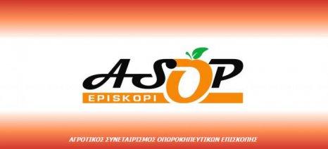 Με ευρωπαϊκή χρηματοδότηση 50/50 τα νέα ψυγεία του ΑΣΟΠ Επισκοπής